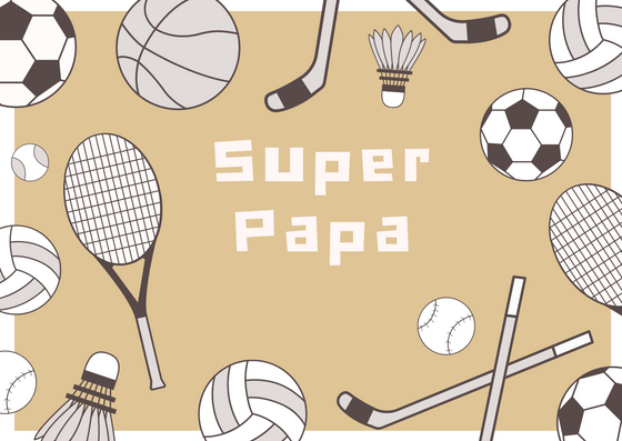 Sporty Father's Day Card