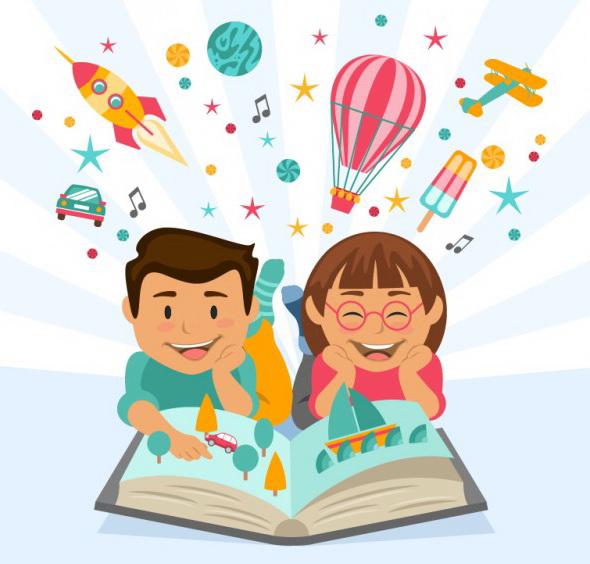 des-enfants-heureux-de-lire-un-livre-imaginative_23-2147533259